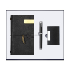 Black-Notebook+pen+name card holder
