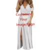Custom Women Plus Size Dress