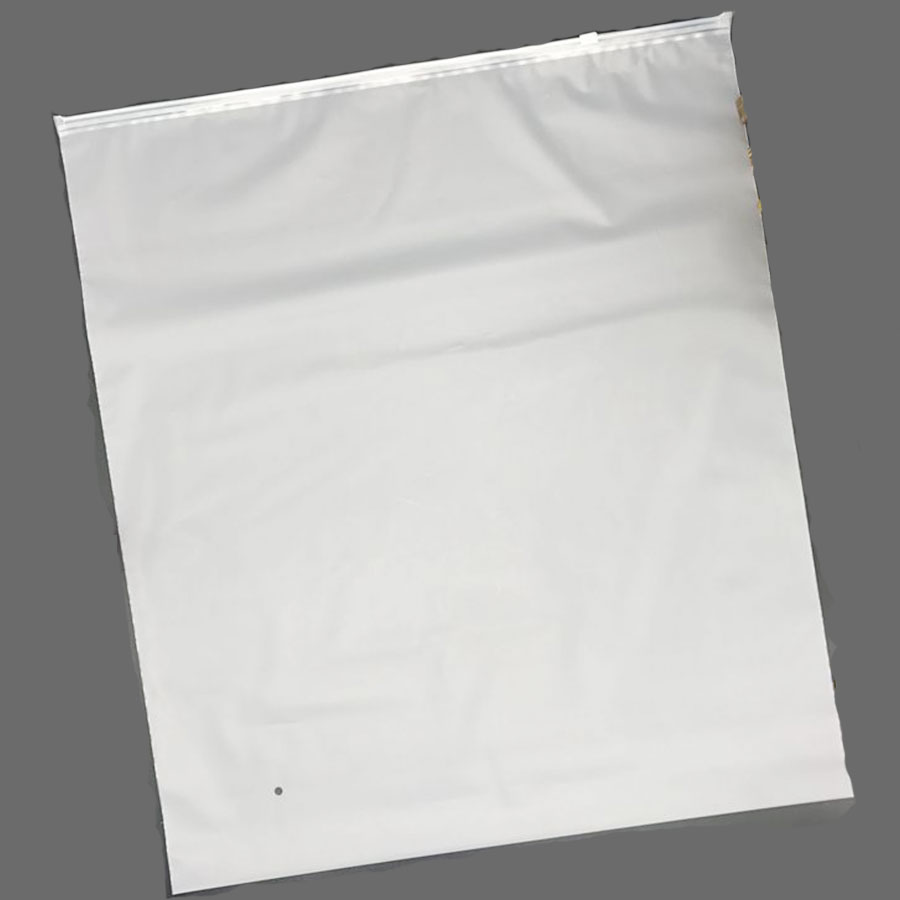 Matte Transparent Frosted Packing Slider Bags Cloth Packing Zipper Bags*