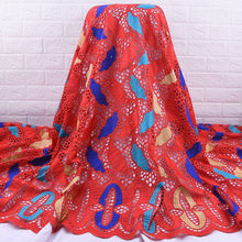 Zhenguiru африканская кружевная ткань высокого качества для мужчин, хлопковая сухая кружевная ткань с камнями, швейцарская вуаль, кружево в Шве...(Китай)