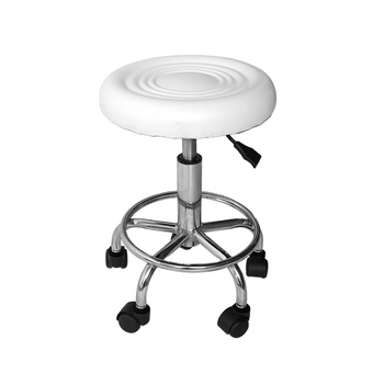 Beauty Adjustable Salon Saddle Stool Hydraulic Rolling Chair Tattoo Dental Facial Massage Spa Barber Saddle Chair