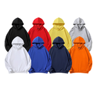 New Hot Selling Products Long Heavy Cotton Hoodies Unisex Wholesale plain Hoodies In All Colors