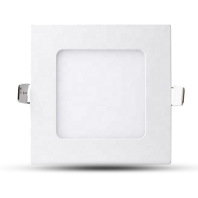 Square Ceiling Down Recessed 3W LED Panel Light