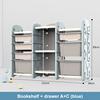 Storage A+B blue