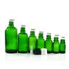Grün glas dropper flasche