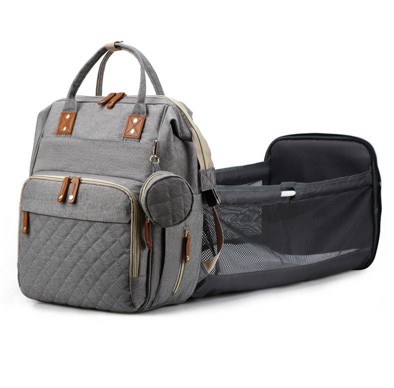 Многофункциональная Высококачественная Водонепроницаемая дорожная Складная Роскошная детская сумка для пеленок, рюкзак с кроватью