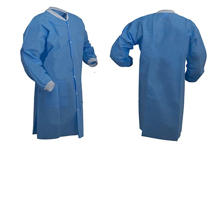factory direct price Waterproof Disposable nonwoven lab coat for doctor one time use Lab Coats - KingCare | KingCare.net