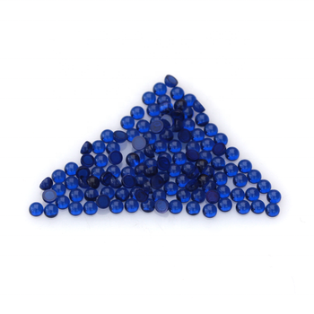dark blue synthetic spinel /synthetic blue sapphire/artificial fake blue gems for rings