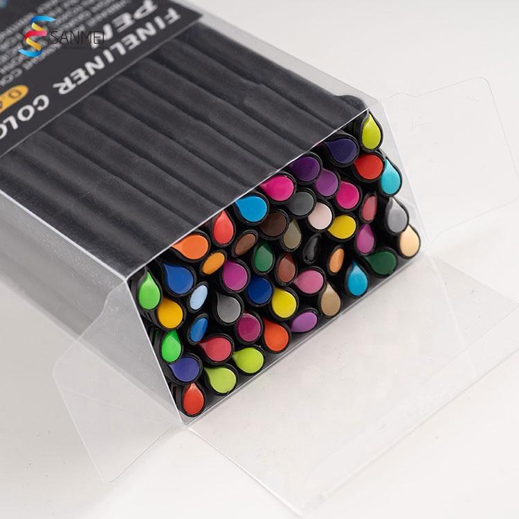 48 шт безопасная и быстрая сушка комикс рисунок тонколинейная ручка с мягкой накладкой широкий ассортимент цветов