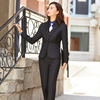 Women black suits(blazer+Vests+pants)