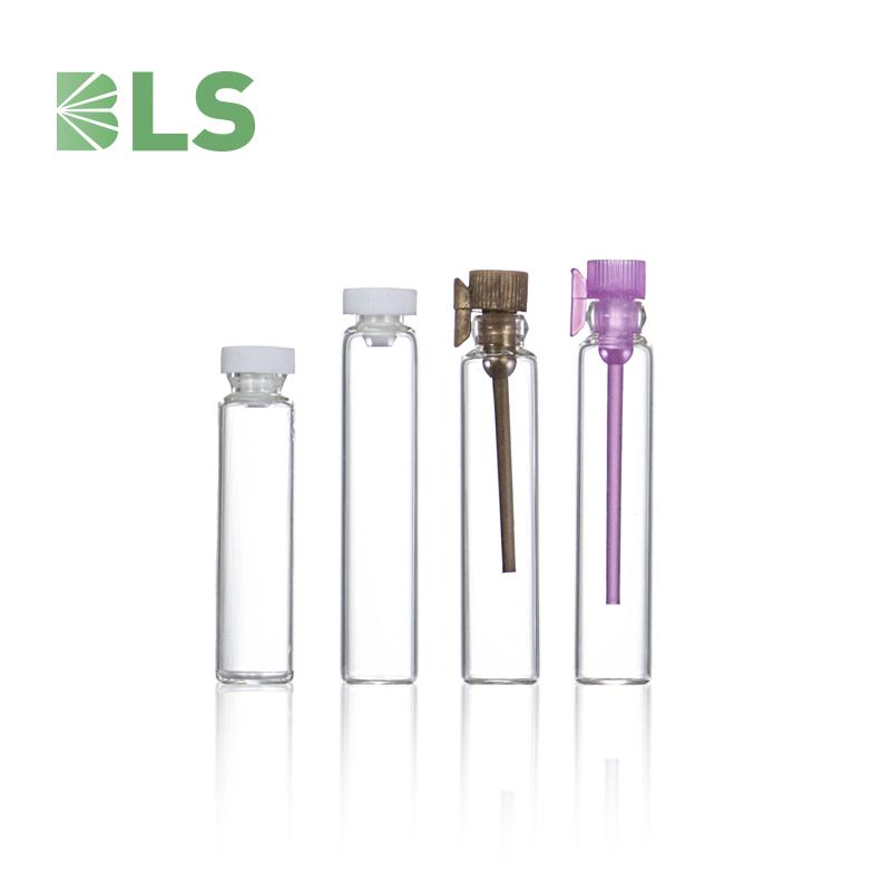 2021 оптовая продажа индивидуальная Емкость тестер трубка бутылка для ликера флакон для парфюма 10 мл 15 мл стеклянная трубка флакон