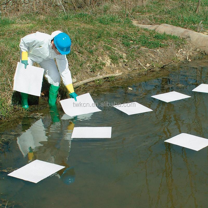 Лист только для очистки от протекания масла, 100% полипропилен, белый соникающий химический 100 впитывающий быстровпитывающий очищающий коврик