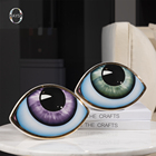 Decoration Table Gold Ceramic Eye Decoration For Home Accessorie Modern Luxury Ornament Living Room Home Decor Table Decoration
