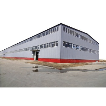 china customized prefabricated storage industrial metal steel frame sheds