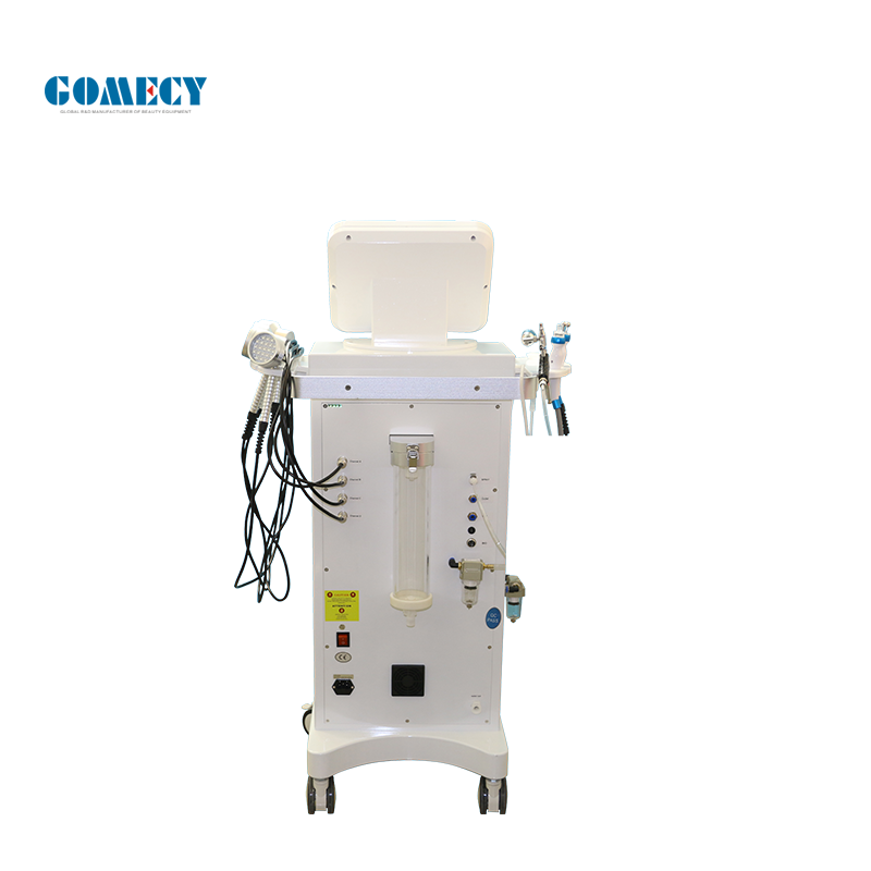 Hydrafacials Dermabrasion Machine Oxygen Dermabrasion 7 In 1 Hydrafacials H2O2 Skin Treatment low price