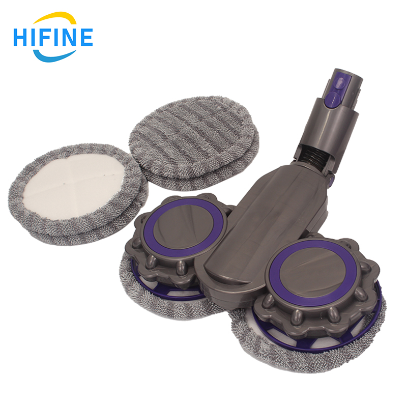 Compatible With Dysons V7V8V10V11Replacement Household Electric Cleaning Brush Floor Brush Head Soft Roller Brush Accessories