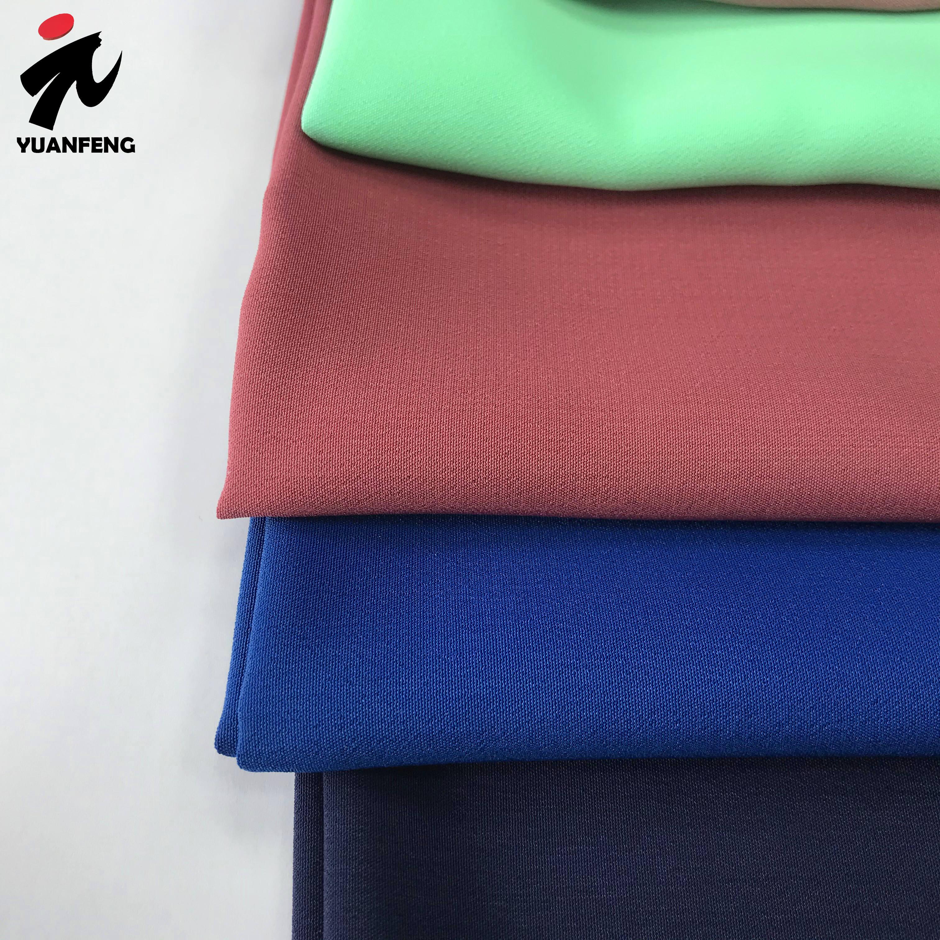 2021 fashion china factory cheapest 100% polyester fabric woman dress crepe peach koshibo fabric