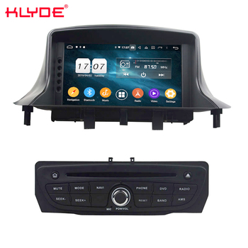 KD-7237 Factory OEM Car DVD player Video Screen for Megane III Fluence 2009-2016 Auto GPS radio TV with BT phone book Camera