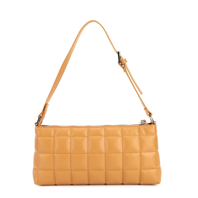 Hot selling luxury axillary sling crossbody bags pu women handbag