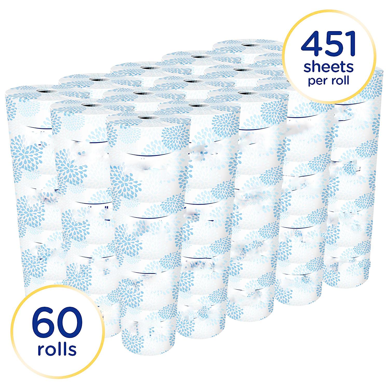 Soft Bathroom Tissue Toilet Paper
