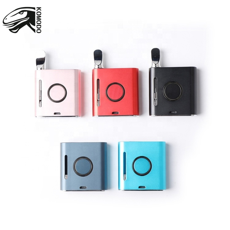 2020 Wholesale Colorful Customized Vape New Version Komodo Vmod Box Mod 510 Magnetic - MrVaper.net