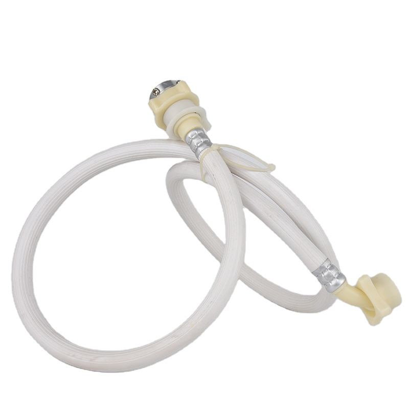 Auto Water Inlet Hose PVC White Drain Washing Machine Drain Hose For Washing Machine