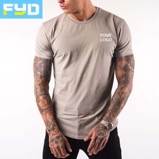Wholesale Custom Workout T Shirt Gym Athletic Male Sport Wear Active Fitness Men Gym Wear