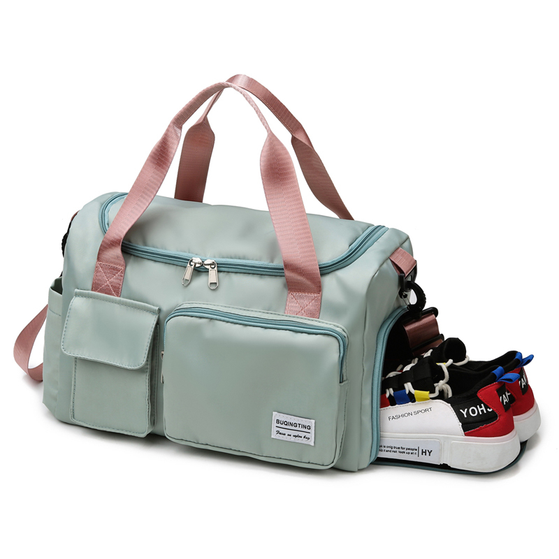 Waterproof Sports Gym Weenkder Bags,Travel Shoulder Duffle Bag with Shoe Compartment