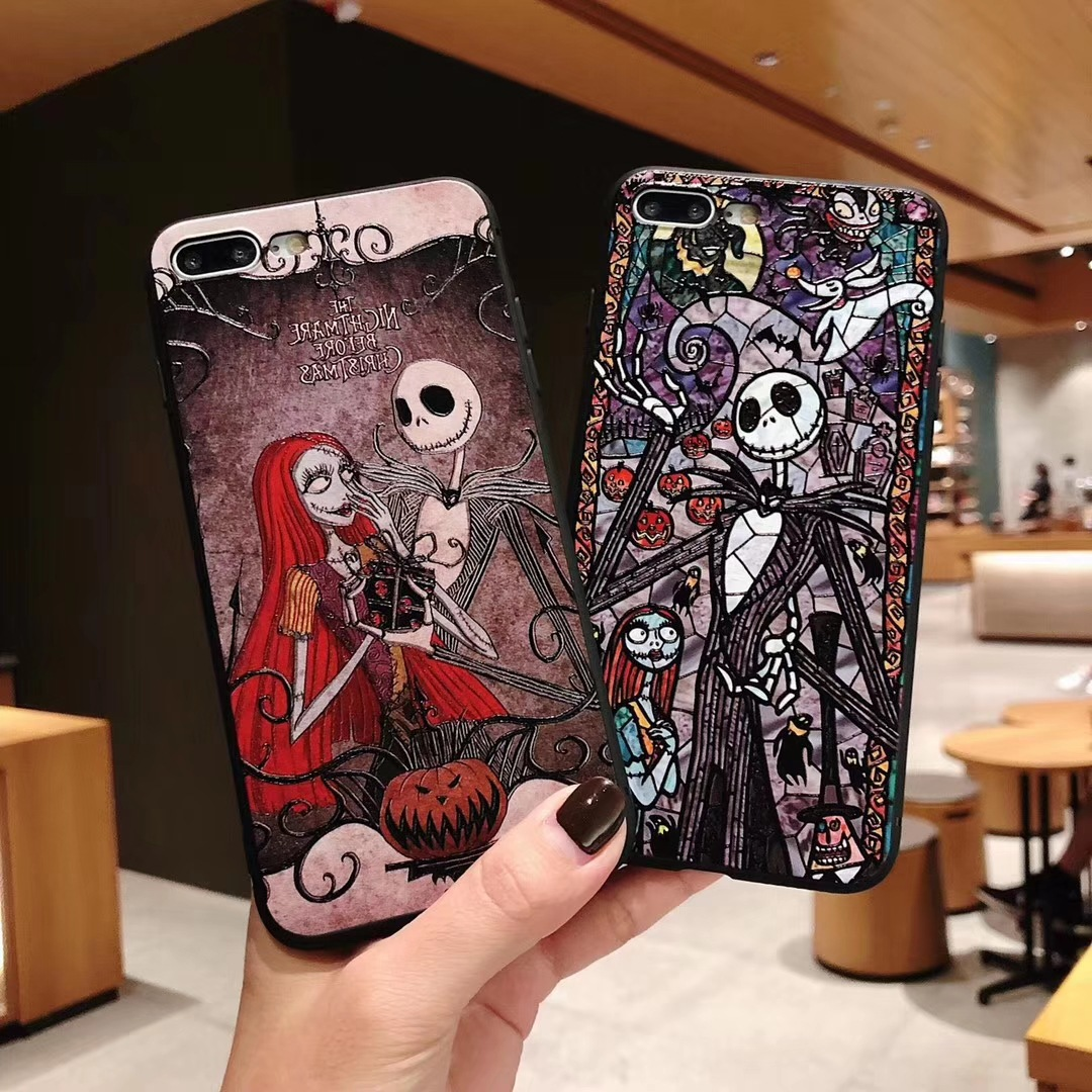 Hot Sale Halloween 3d Relief Cartoon Phone Case For Iphone 11 Cool Jack Skeleton Skull Back Cover For Iphone 6/7/8/plus/x/xs/max - Buy Halloween Phone ...