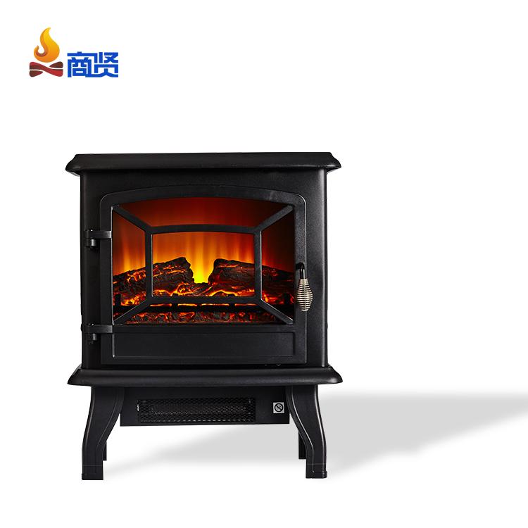 3-сторонняя отдельно стоящая плита нагреватель и портативный Электрический камин