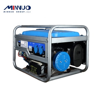 2020 Specially provided for coastal countries use minnuo brand mini gasoline generator Rated with EU standard for sale