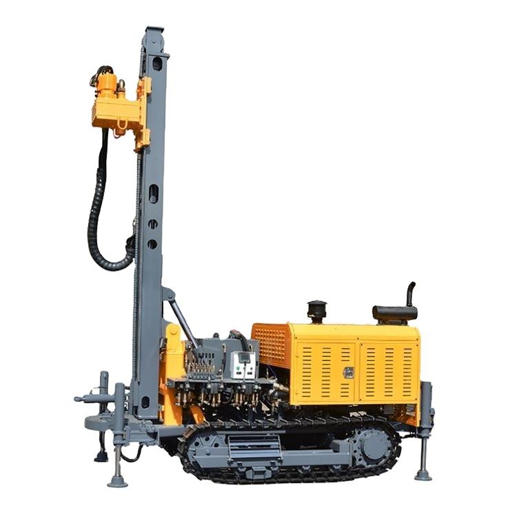 200 м глубина на трактор портативная буровая установка для бурения скважин на воду с компрессором Лидер продаж в Чили