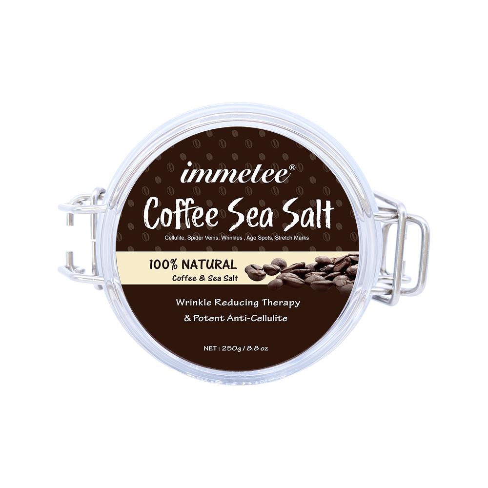 Индивидуальный бренд для удаления омертвевшей кожи, скраб для лица и тела, скраб для глубокой очистки тела, отшелушивающий кофейный скраб для тела