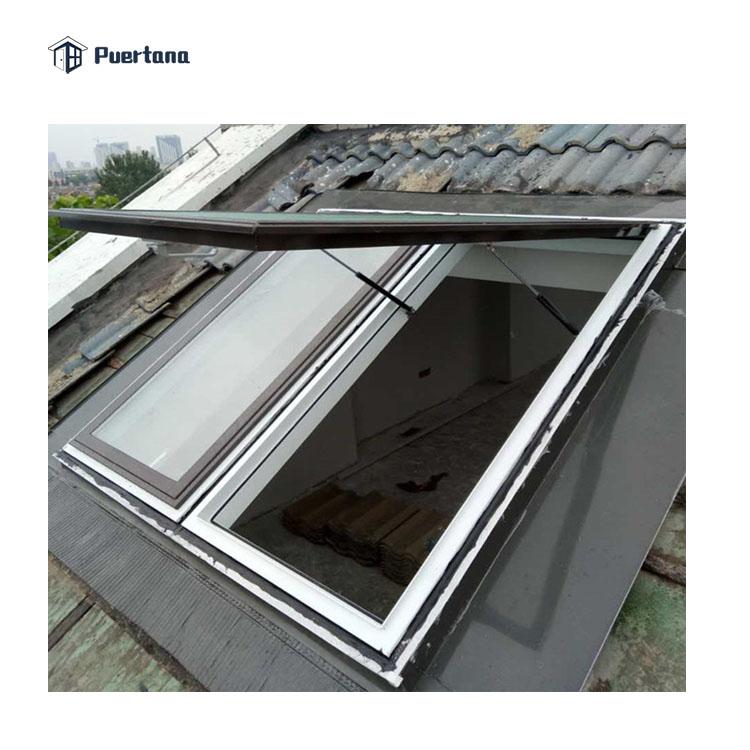 Автоматическое раздвижное окно на крыше