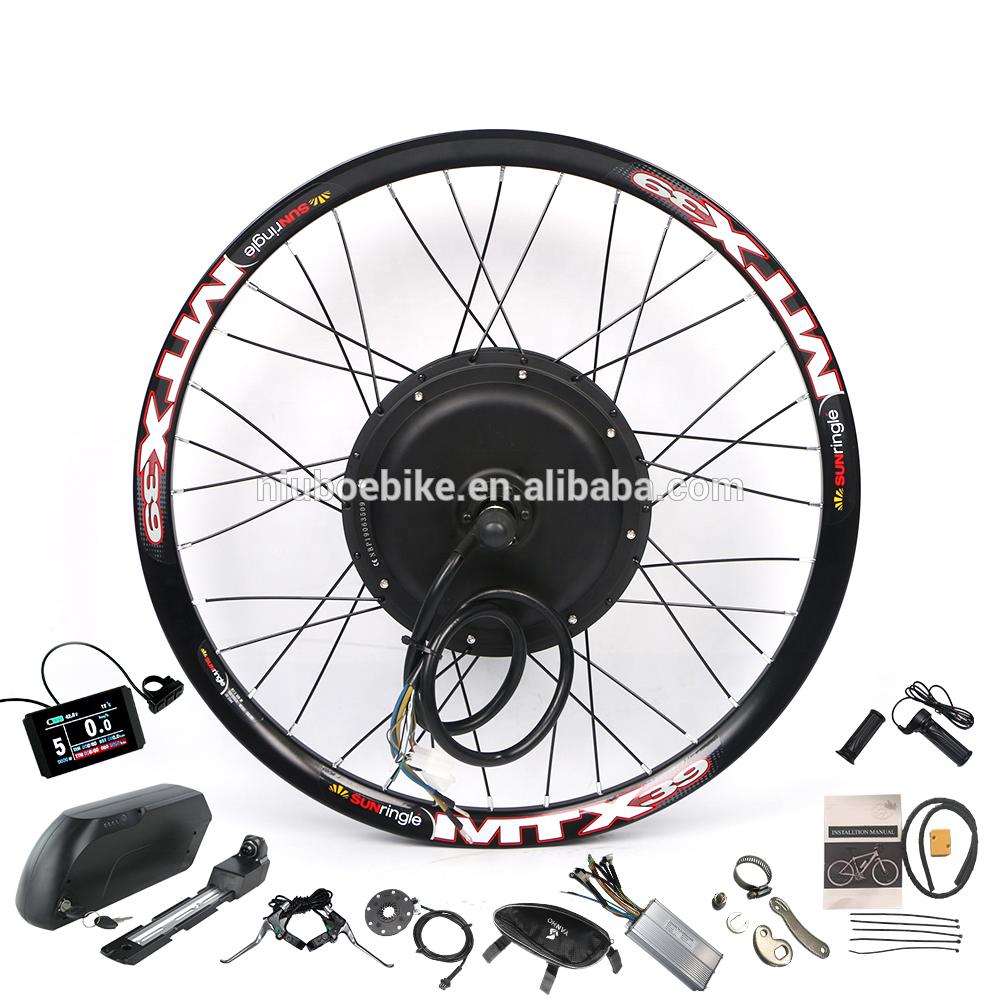 2021 MTX колесо 48 в 52 в 2000 Вт, электровелосипед, электровелосипед, мотор, комплект для переоборудования с батареей