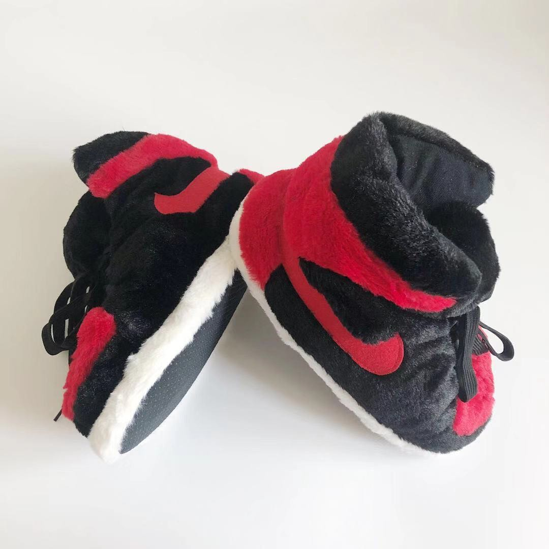 Top quality winter indoor home plush shoes warm sneakers