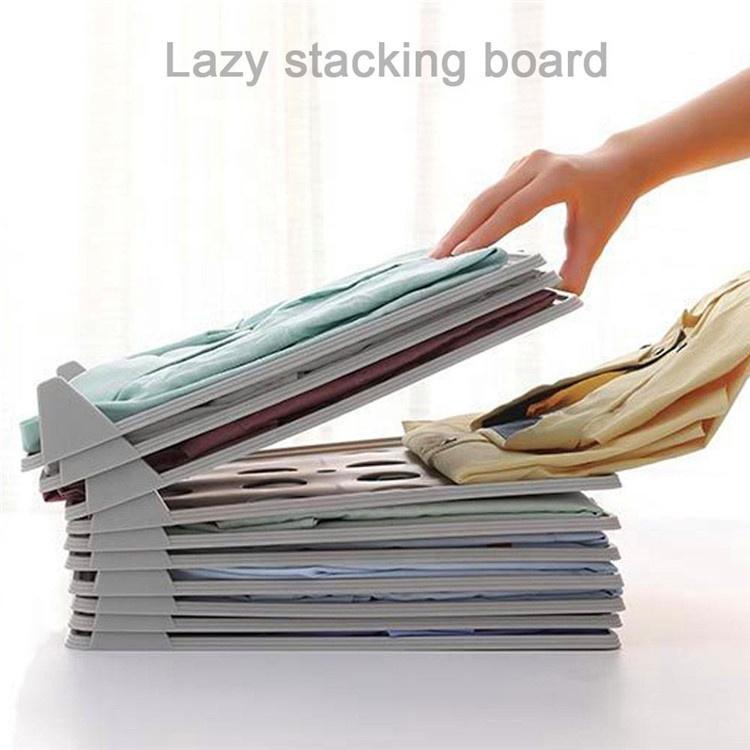 Shirt Organizer T Shirt Folder Board Clothing Dividers Stackable T Shirt Document Lazy Folding Board Organizers