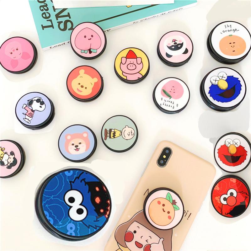 Бесплатный образец держателя мобильного телефона рекламный дизайн рукоятка оптовая продажа телефонные розетки Пользовательский логотип для сотового телефона стенд