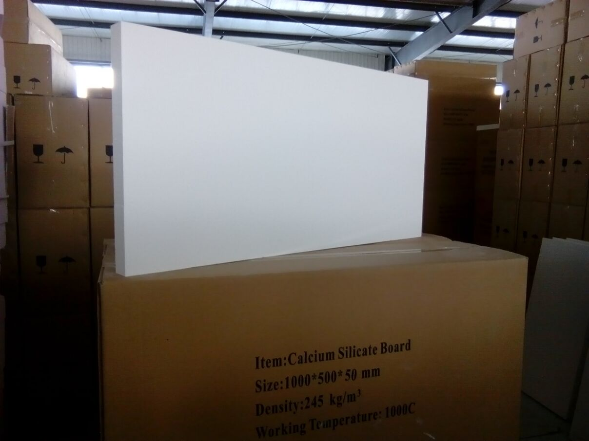 1050C Calcium silicate insulation board and pipe cover
