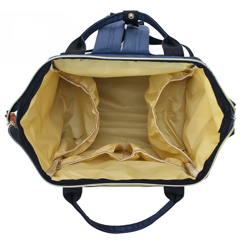 The Cheapest Price Wholesale New Design Mommy Baby Bag Portable Felt Diaper Bag Baby Diaper Hiking Backpack Baby Carrier