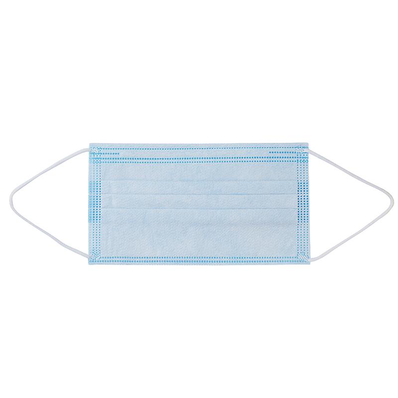 Лучшая цена нетканые маски 2021 зародышей защита 3 одноразовая медицинская маска с тремя складками хирурга маска для лица