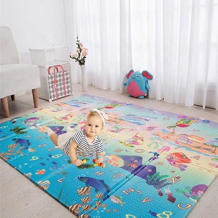 Водонепроницаемый коврик для детей tummy time, экологически чистый детский коврик, коврик для ползания