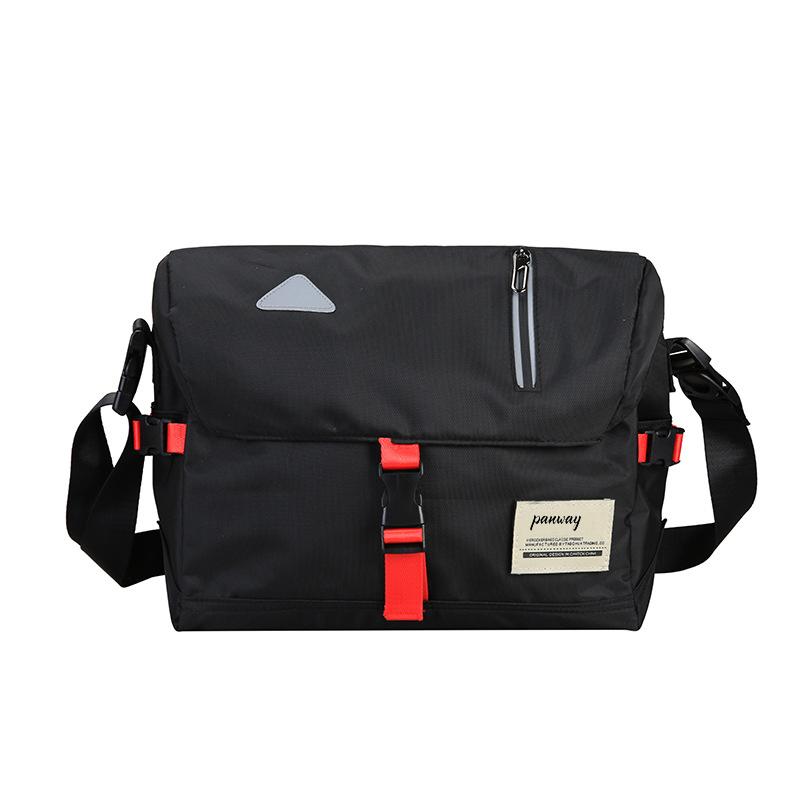 Shoulder bag men custom Wholesale high quality nylon waterproof messenger bag bike sport shoulder bag