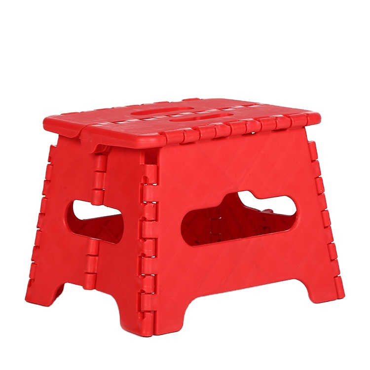High Quality Competitive And Portable Plastic Folding Stools
