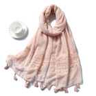 Bronzing Fawn Cotton And Linen Scarves Shawl Scarf Cape Shawls Women Winter Scarves From India Hijab Chiffon Silk 2021