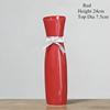 RED-Cheongsam ceramic vase