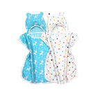 Organic pure cotton gauze baby bath cape sleeping bad