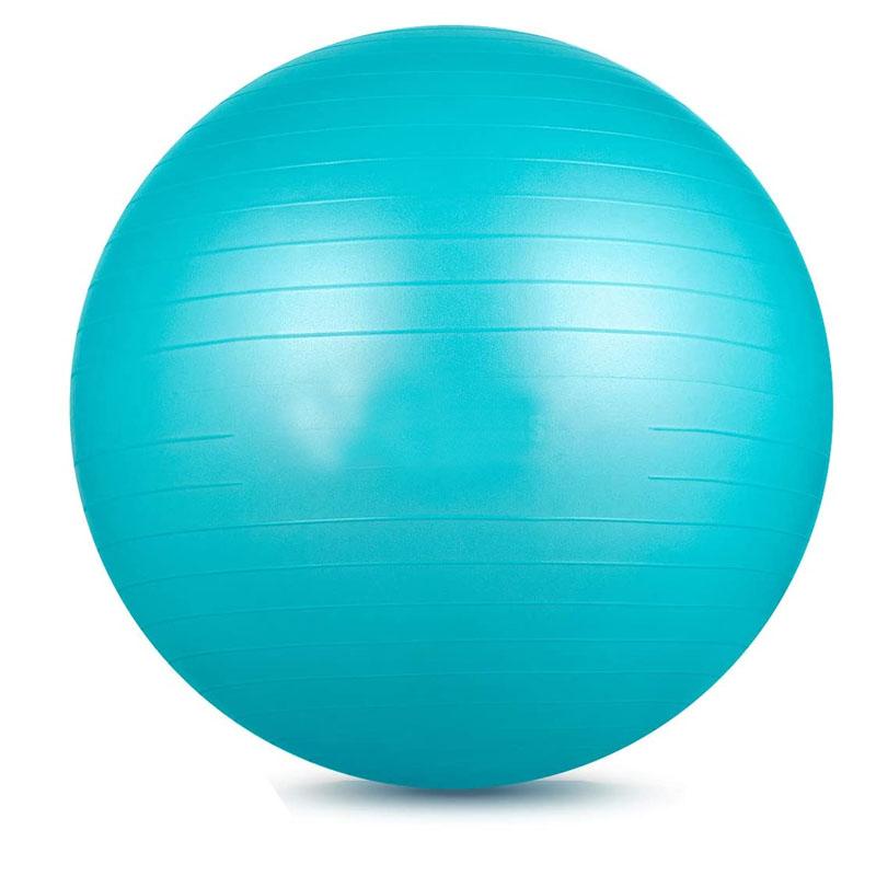 Изготовленный На Заказ цветной мяч для упражнений из ПВХ, Радужный модный мяч для йоги в тренажерном зале