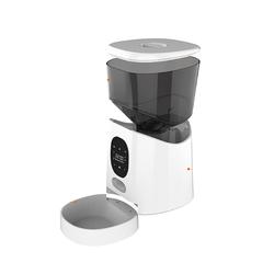 Новинка 2021, автоматическая кормушка для домашних животных, емкость 5 литров, умный диспенсер для продуктов с кнопками