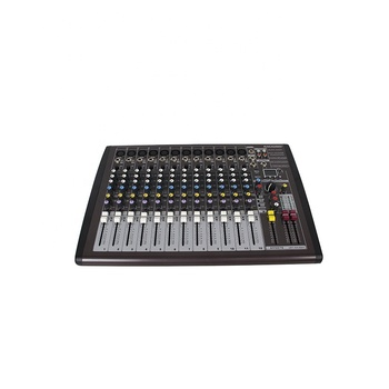 Audio Console Digital 12 Professional Sound Dj Mixing Usb Mixer